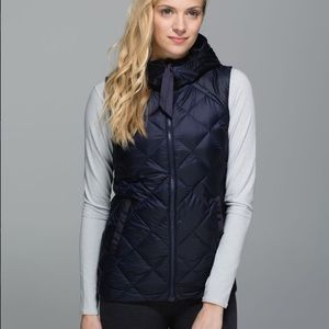 Lululemon the fluffiest vest